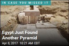 Egypt Just Found Another Pyramid