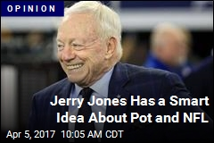 Jerry Jones Has a Smart Idea About Pot and NFL