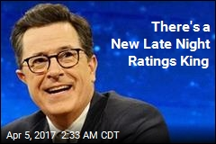 There's a New Late Night Ratings King
