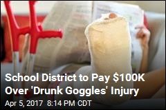 School District to Pay $100K Over 'Drunk Goggles' Injury