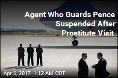 Secret Service Agent 'Suspended After Visiting Prostitute'