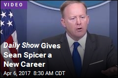 Daily Show Envisions Sean Spicer as Kindergarten Teacher