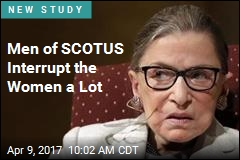 Women of SCOTUS Get Interrupted 3 Times as Much