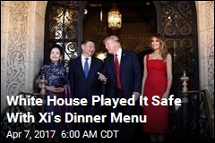 White House Played It Safe With Xi's Dinner Menu