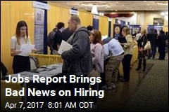 Hiring Slows Sharply in New Jobs Report