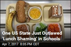 One US State Just Outlawed 'Lunch Shaming' in Schools