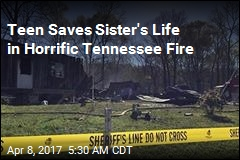 Teen Saves Sister's Life in Horrific Tennessee Fire