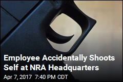 NRA Employee Accidentally Shoots Self During Training
