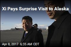 Xi Pays Surprise Visit to Alaska