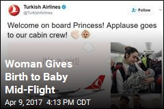 Woman Gives Birth to Baby Mid-Flight