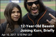 Korn Will Briefly Have a 12-Year-Old Bassist