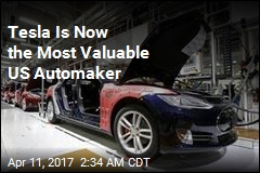Tesla Is Now the Most Valuable US Automaker