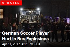 German Soccer Player Hurt in Bus Explosions