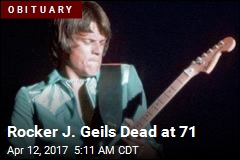 J. Geils Band Singer Dead at 71