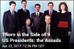 Thorn in the Side of 9 US Presidents: The Assads