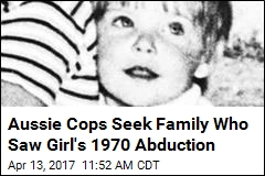 Aussie Cops Seek Family Who Saw Girl's 1970 Abduction