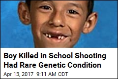 Boy Killed in School Shooting Had Rare Genetic Condition