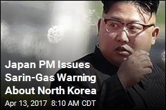 Japan PM Issues Sarin-Gas Warning About North Korea