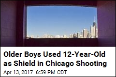 Older Boys Used 12-Year-Old as Shield in Chicago Shooting