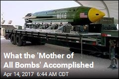 'Mother of All Bombs' Reportedly Killed 36