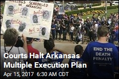 Courts Halt Arkansas Multiple Execution Plan
