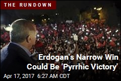 Narrow Win for Turkey's Erdogan Confirmed