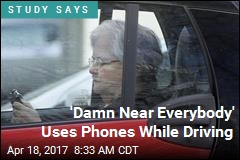 Drivers Use Phones on 88% of Car Rides