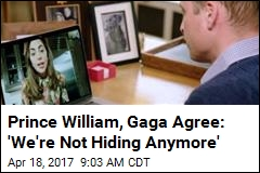 Prince William, Lady Gaga FaceTime for a Cause