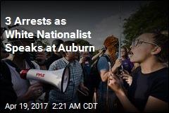 3 Arrested as Richard Spencer Speaks at Auburn