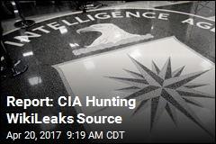 Report: CIA Hunting WikiLeaks Source