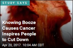 Want People to Cut Boozing? Remind Them It Causes Cancer