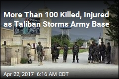 More Than 100 Killed, Injured as Taliban Storms Army Base