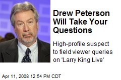 Drew Peterson Will Take Your Questions