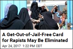A Get-Out-of-Jail-Free Card for Rapists May Be Eliminated