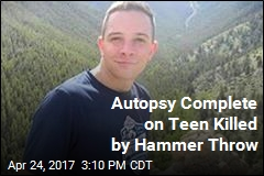 Autopsy Complete on Teen Killed by Hammer Throw