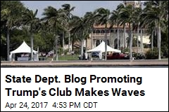 State Dept. Blog Promoting Mar-a-Lago Makes Waves