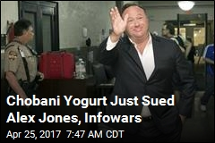 Chobani Sues Infowars Over 'Migrant Rapists' Story