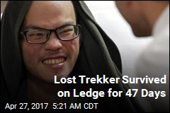 Lost, Starving Trekker Rescued After 47 Days