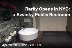 New York City Just Got a Very Posh Public Restroom