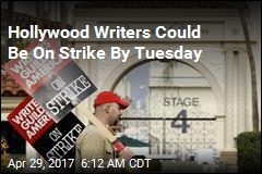 Hollywood Writers Could Be On Strike By Tuesday
