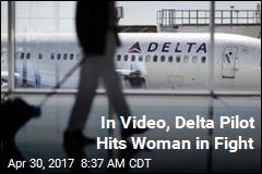 In Video, Delta Pilot Hits Woman in Fight