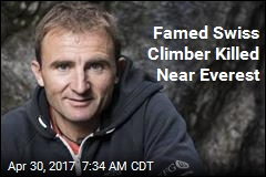 Famed Swiss Climber Killed Near Everest