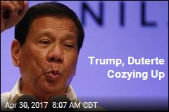 Trump, Duterte Cozying Up