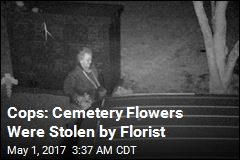 Cops: Florist Stole Flowers From NJ Cemetery