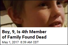 Boy, 9, Is 4th Member of Family Found Dead