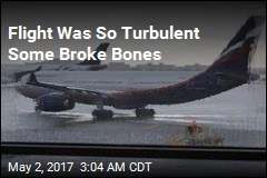 Flight So Turbulent Some Broke Bones