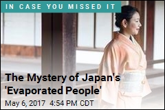 The Mystery of Japan's 'Evaporated People'