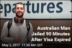 Aussie Allegedly Jailed for Overstaying US Visa by 90 Minutes