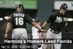 Hermida's Homers Lead Florida