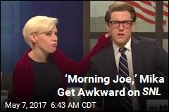 'Morning Joe,' Mika Get Awkward on SNL
